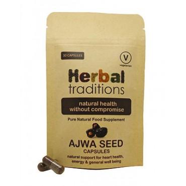 Ajwa Seed Capsules : 30 Capsules