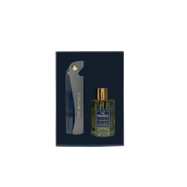 MuskCo: Beard Oil / Comb Set (BlackNight)