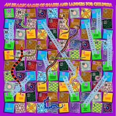 An Islamic Game of Snakes & Ladders for Children
