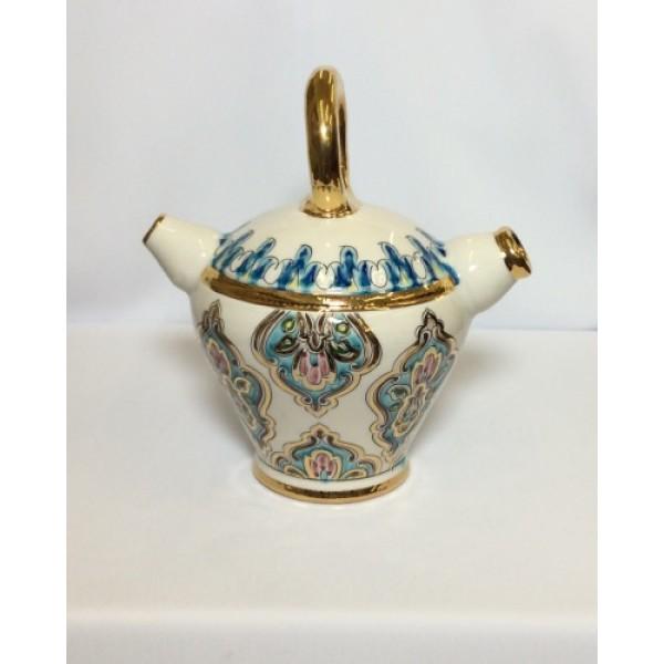 Tunisian Ceramic Tea Pot (L)