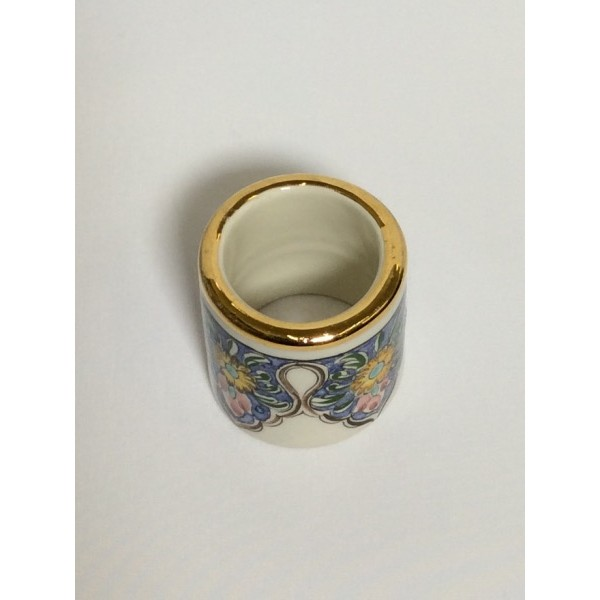 Tunisian Ceramic Napkin Ring
