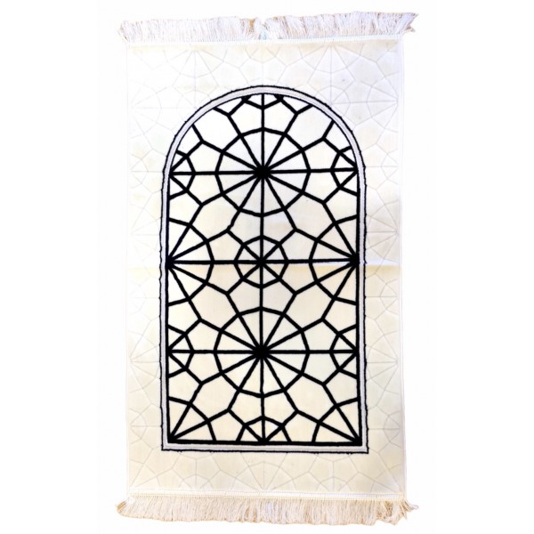 SafaTeks - Geometric Pattern Soft prayer mat
