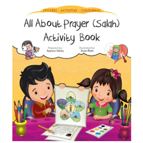 All about prayer activity book