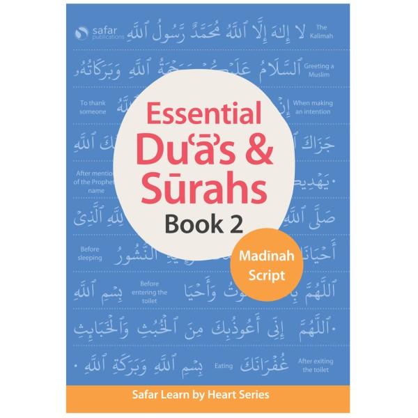 Safar - Essential Duas & Surahs (Book 2) Madinah Script