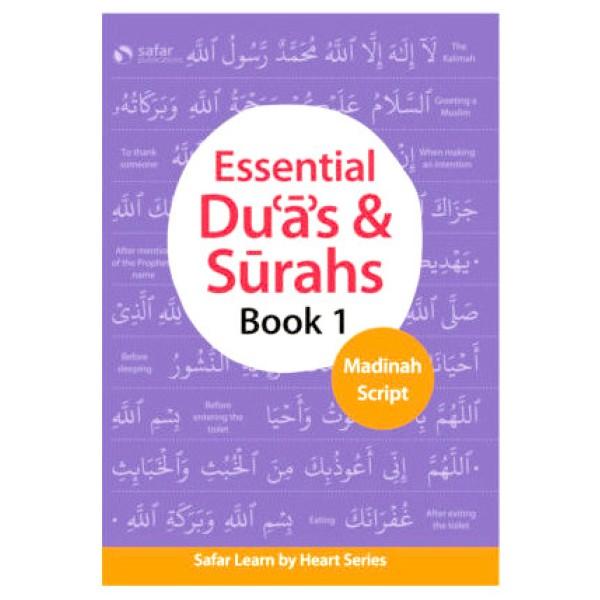 Safar - Essential Duas & Surahs (Book 1) Madinah Script