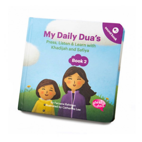 Desi Doll : My Daily Dua's Story Sound Book 2