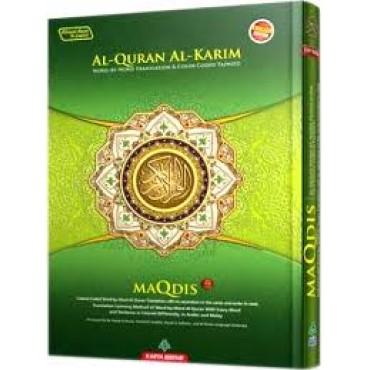 Quran Maqdis- Word for Word Translation CC Tajweed Arabic-English