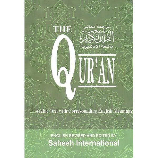 Saheeh International Quran Large H/B