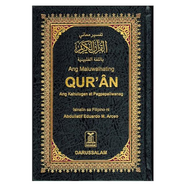 Noble Quran - Arabic / Philpino Translation (14X21)
