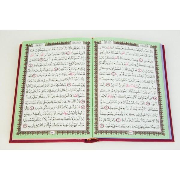 Quran - Beirut Rainbow Uthmani Zip 12x17