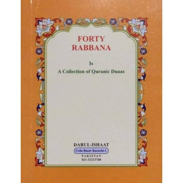 Forty Rabbana - Pocket Booklet