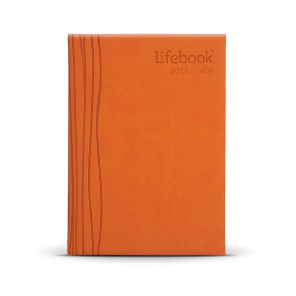 Deskbook ; Tango Orange