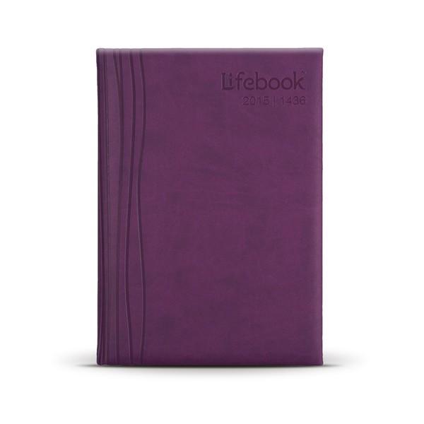 Deskbook ; Lollipop Purple
