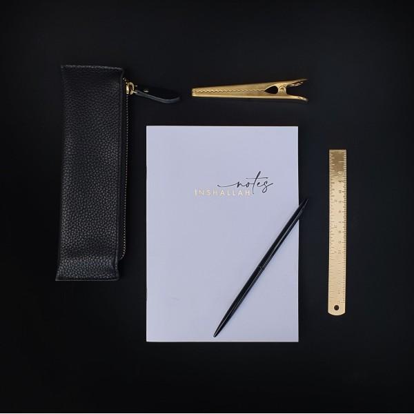 Gold Foiled  Notes - Inshallah