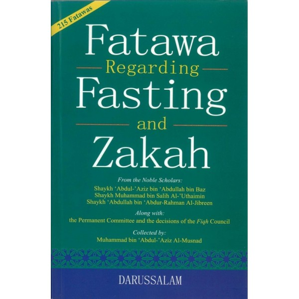 Fatawa regarding fasting and zakah